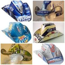bud light beer box hat beer box cowboy hat get your redneck on a thrifty mom recipes