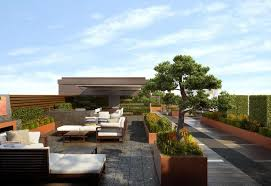 rooftop garden design chelsea creek dockside house london roof terraces phase 1