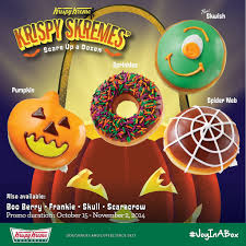 krispy skremes limited edition halloween doughnuts from krispy