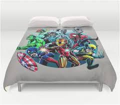 Superhero Double Duvet Set Superhero Bedding Justice League Inception Double Duvet Quilt