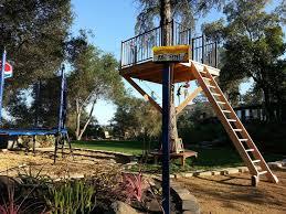 Backyard Zip Line Ideas 111 Best Tree Forts U0026 Platforms Images On Pinterest The Tree