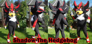 Shadow Costume Shadow The Hedgehog Costume By Vixen T Fox On Deviantart