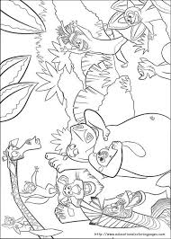 madagascar coloring educational fun kids coloring pages