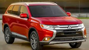 2016 Mitsubishi Outlander 7 Passenger Crossover Best Suv Editions