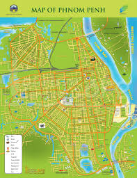 Map Of Cambodia Cambodia Deaf Tours Maps