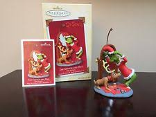 hallmark grinch ornament ebay
