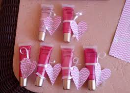 perfect baby shower favors bought a pack of 6 lip glosses and