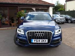 Audi Q5 60 Plate - used audi q5 suv 2 0 tdi s line plus s tronic quattro 5dr start