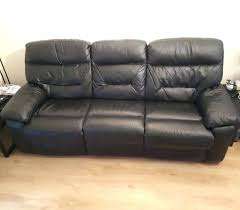 3 Seater Leather Recliner Sofa Two Seater Leather Sofa Second Second Leather Recliner
