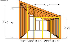 Greenhouse Floor Plans by Lean To Shed Roof How To Build A Lean To Carport Howtospecialist