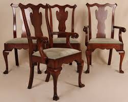 Chippendale Dining Room Chairs Special And Unique Vintage Dining Chairs All Home Decorations