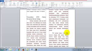 membuat novel di ms word cara membuat 2 kolom dalam microsoft word youtube