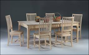 Unfinished Dining Room Furniture Unfinished Dining Room Table Project For Awesome Images Of