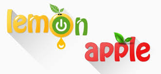 free apple and lemon logo templates free psd files