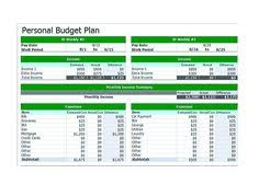 blank bi weekly budget template 9 bi weekly budget template