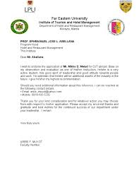 acceptance letter for ojt from the company image gallery