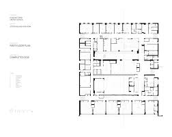 Ground Floor And First Floor Plan by Gallery Of The Kathleen Grimm For Leadership And