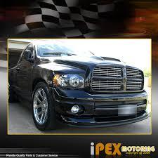 02 dodge ram headlights 2002 2005 dodge ram 1500 2500 3500 black headlight black smoke