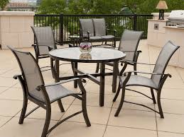 Patio Glass Table Furniture Luxury Aluminum Outdoor Furniture With Modern