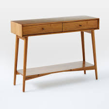 Mid Century Console Table Mid Century Console West Elm