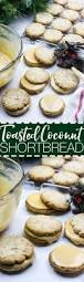 coconut shortbread cookies with salted caramel icing recipe