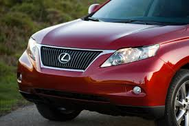 lexus rx red lexus announces pricing for all new 2010 rx 350