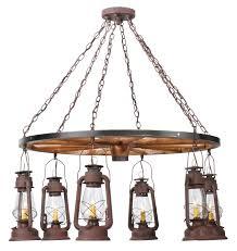 chandelier rustic ceiling light fixtures distressed wood