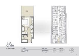 Watermark Floor Plan Floor Plans Elite Business Bay Residence Dubai