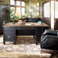 black office desk for sale beckett executive desk with milled pine parquet top in black 1599