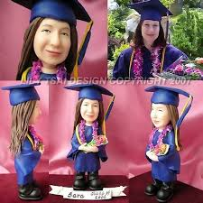 great college graduation gifts best graduation gift idea figurines with custom graduation gown