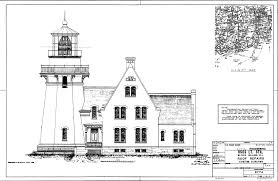 Lighthouse Floor Plans by Plan For Block Island Southeast Lighthouse