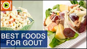 how to treat gout foods u0026 healthy recipes youtube
