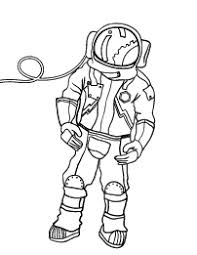 astronaut coloring page free people coloring pages