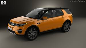 orange land rover discovery 360 view of land rover discovery sport hse luxury 2015 3d model