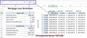 two way data table excel how to create one variable data table in excel 2013 what if analysis