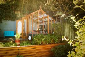 Backyard Office Kit by Studio Solution A Kit Greenhouse Becomes A Creative Private Office