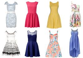 5 different types of dresses to try for a sorority formal