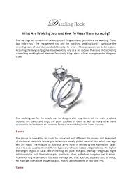 what to wear in marriage what are wedding sets and how to wear them correctly
