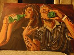 People Painting by Painting Of People Drinking By Tahakitan On Deviantart