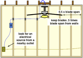 installing a new ceiling fan how to frame for a new ceiling fan and light fixture do it