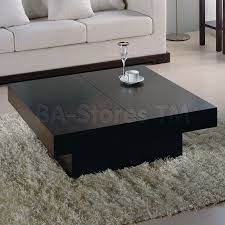 black coffee table with storage nile square storage coffee table wenge 558 00 furniture store
