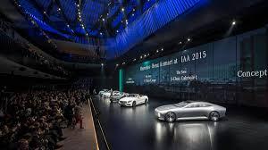 mercedes frankfurt mercedes iaa concept debuts at frankfurt motor autoweek