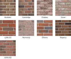 exceptional colors of brick 1 boral bricks see normandy and