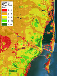 Miami City Map by Water Water Everywhere Sea Level Rise In Miami Rsmas Blog