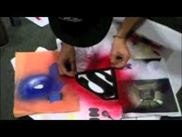 custom spray paint shirts custom superman shirt youtube