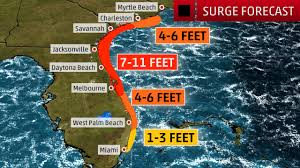 Daytona Florida Map by Hurricane Matthew A Potentially Devastating Category 4 Or 5 Strike