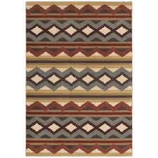home decorators collection chalet multi 4 ft x 6 ft area rug