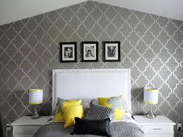 wall stencils for bedrooms creative bedroom wall stencil design ideas home buzz net