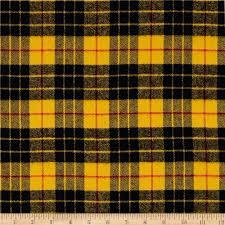 kaufman highlander flannel plaid gold discount designer fabric