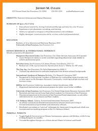sample of a chronological resume chronological resume examples